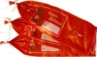 Red Holiday Sausage Casings