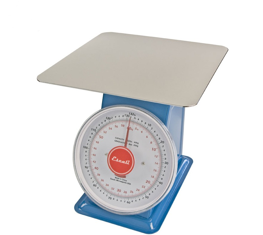 Escali Mercado DS13260P Dial Scale 132 LB w/ Plate