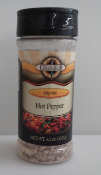 Excalibur Hot Pepper Dip Mix 5.5oz