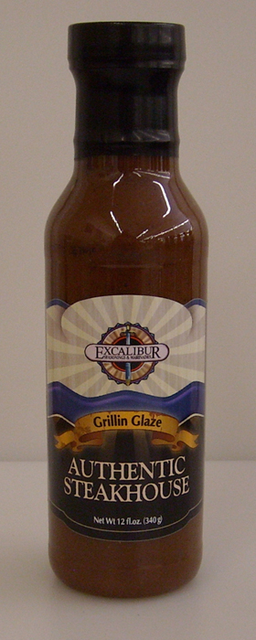 "Excalibur ""The Sauce"" Authentic Steakhouse 12oz"