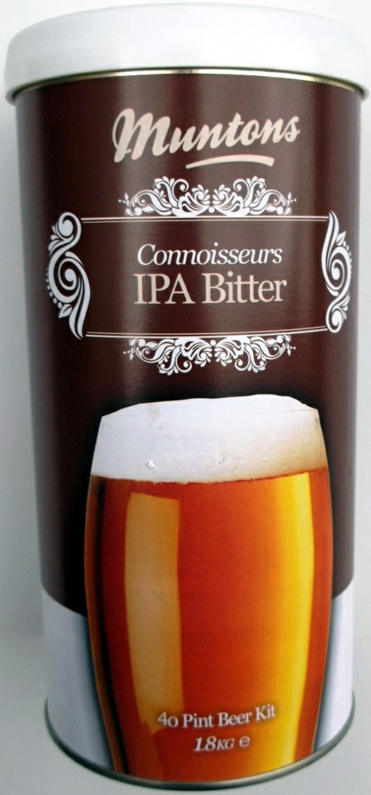 Munton's Connoisseurs Indian Pale Ale (IPA) Malt Extract Kit 4 LB