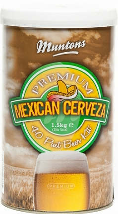 Munton's Mexican Cervesa Liquid Malt Extract Kit 3.3