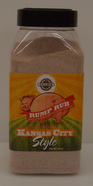 Excalibur Traditional Kansas City Style Rump Rub 30 oz