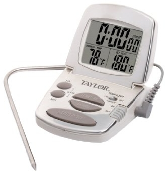 Taylor high temp thermometer & timer