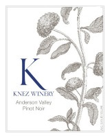 Knez Winery 2013 Pinot Noir Anderson Valley