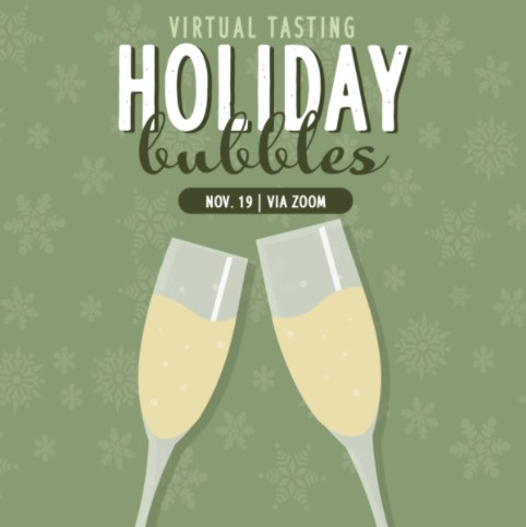 Image: Holiday Bubbly! Our virtual tasting on 11/19/2020 5:30 PST LARGE