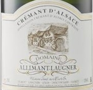 Wine Label: Alliment Laugner Brut LARGE