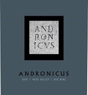 Wine Label: Andronicus Napa Valley Red Wine Blend LARGE