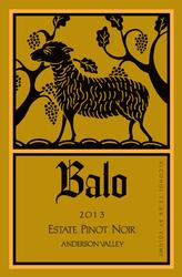 Balo Vineyards 2013 Estate Pinot Noir $44.99