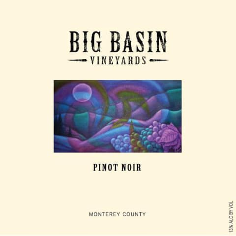 Big Basin 2016 Pinot Noir Monterey County