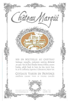 Label image - Chateau Margui 2015 Rose, $19.99