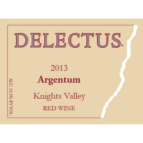 Delectus Winery 2013 Knights Valley Argentum (Red Blend)