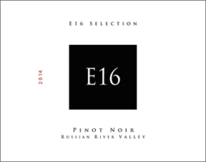 E16 Wine Co 2014 Pinot Noir RRV