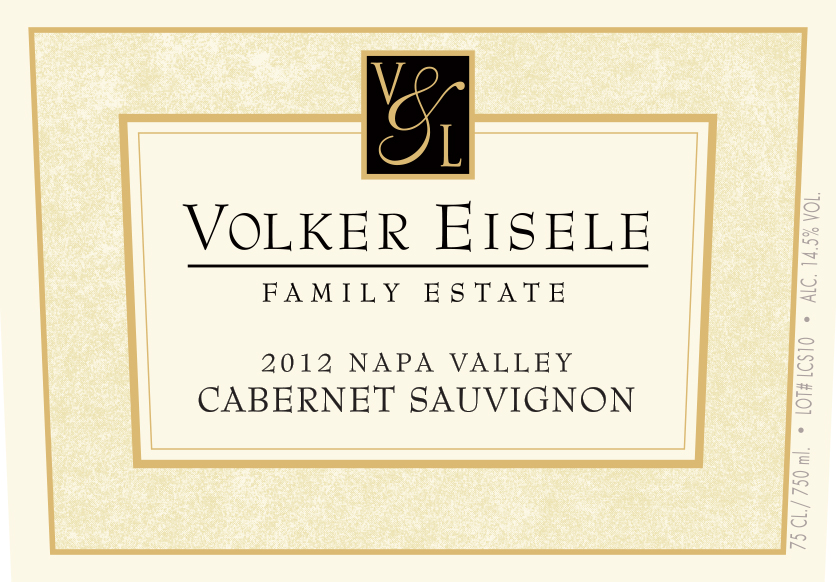 Wine Label: Volker Eisele Family 2014 Cabernet Sauvignon, $54.99 LARGE