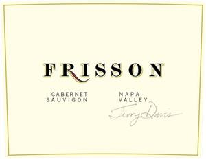 Frisson Wines 2013 Napa Valley Cabernet LARGE