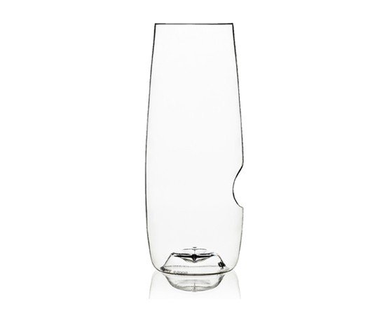 New!  Now dishwasher ready!  Recyclable champagne flute