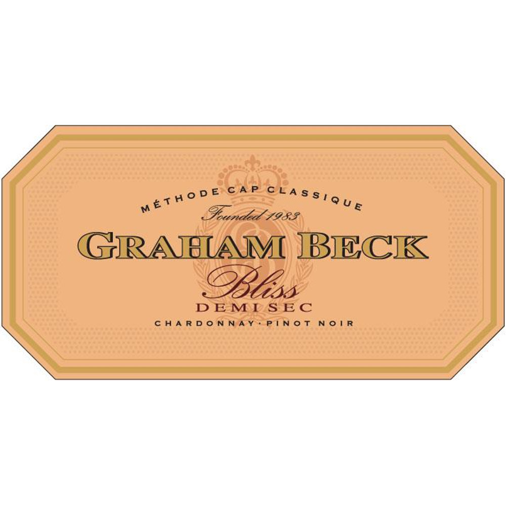 Graham Beck Western Cape Bliss N.V. Demi Sec (South Africa)