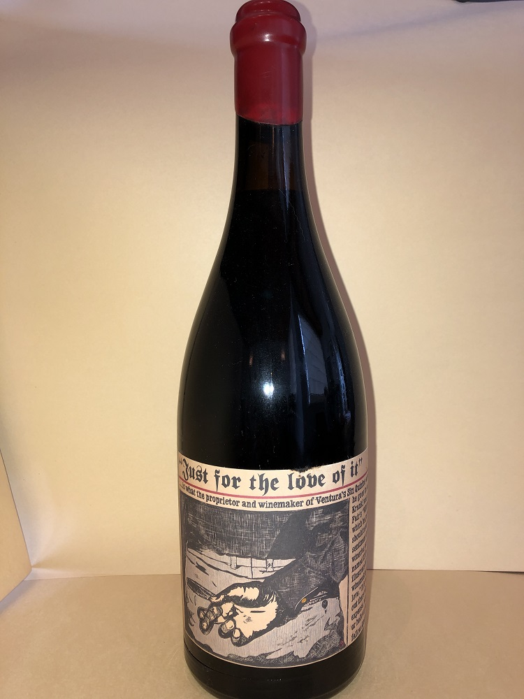Sine Qua Non 2002 Just For The Love Of It Syrah (one 750ml btl)_LARGE