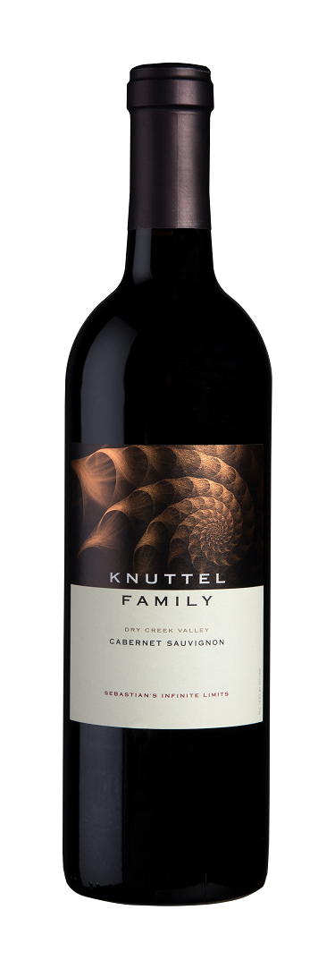 Wine Label: Knuttel Family 2017 Cabernet, Dry Creek Valley LARGE