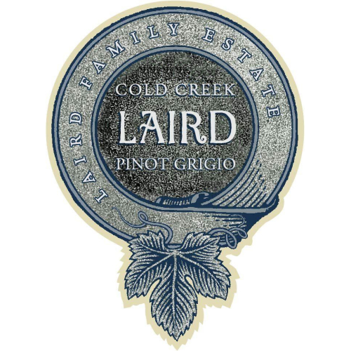 Laird Estate 2017 Pinot Grigio Cold Creek Ranch, Napa