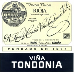 Wine Label - Lopez de Heredia 2007 Tondonia Reserva THUMBNAIL