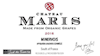 Wine Label for Maris 2017 Syrah-Grenache blend THUMBNAIL