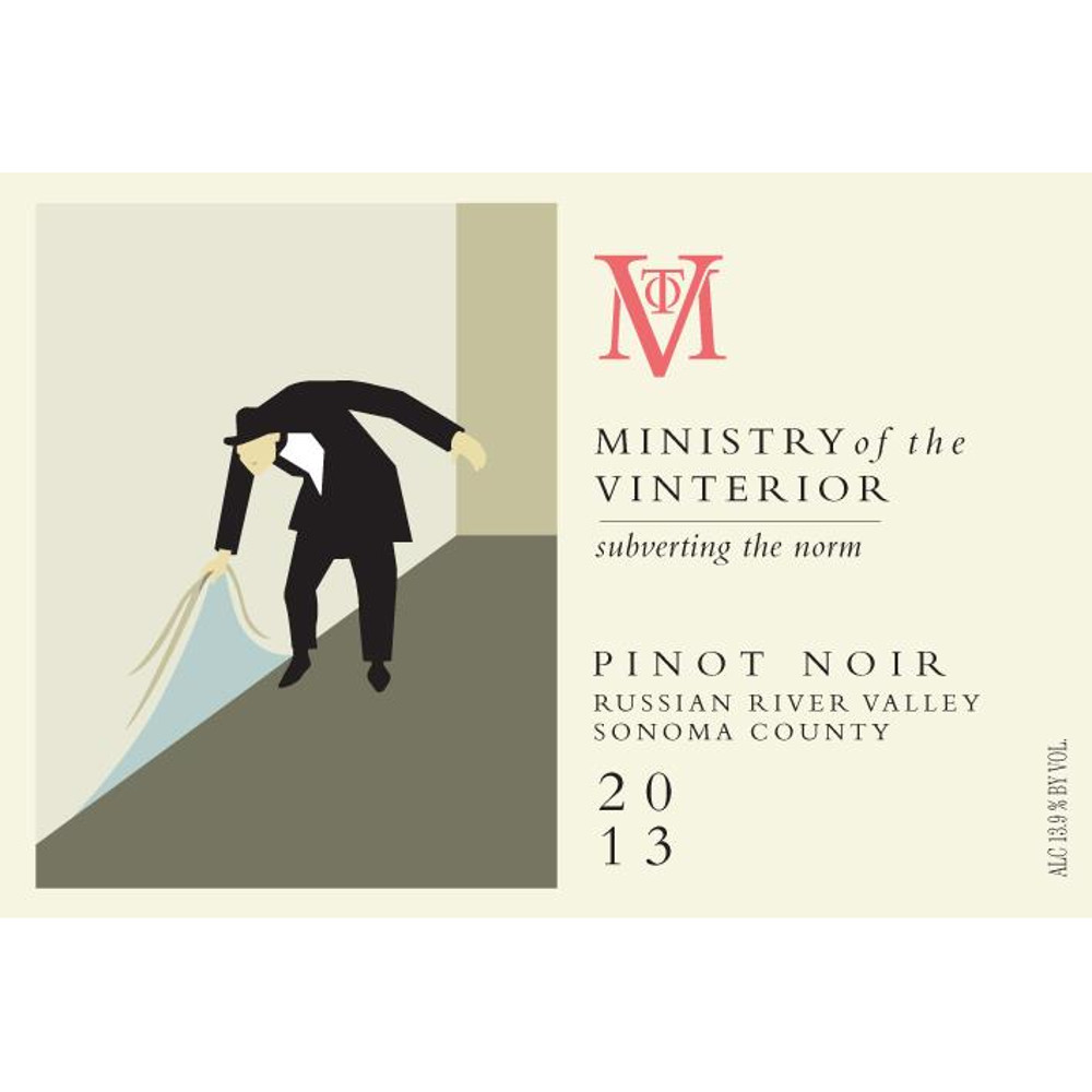 Ministry of the Vinterior 2013 Pinot Noir Russian River Valley