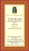 Wine Label: Salvatore Molettieri 2012 Taurasi Cinque Querce THUMBNAIL