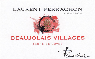 Laurent Perrachon 2016 Beaujolais-Villages Terre de Loyse (Gamay)