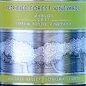 Petrified Forest Vineyards 2012 Merlot Sonoma, Knight's Valley_THUMBNAIL