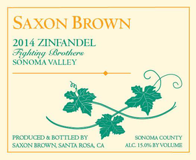 Saxon Brown 2013 Zinfandel