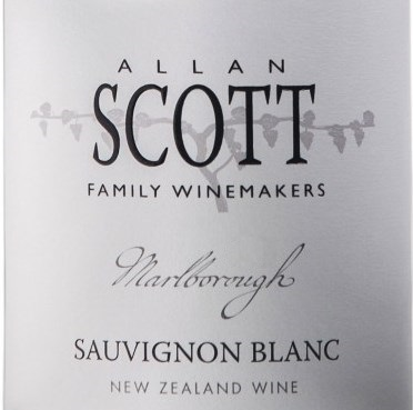 Allen Scott, 2014 Sauvignon Blanc, Marlborough (NZ)