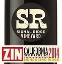 Signal Ridge wine label - 2014 Chardonnay, $21.99