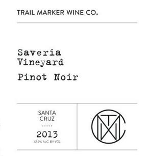 Trail Marker 2016 Pinot Noir Santa Cruz Mountains, Saveria Vyrd_LARGE