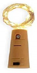 Wine Bottle Lights - LED Lights, cork-shaped battery pack