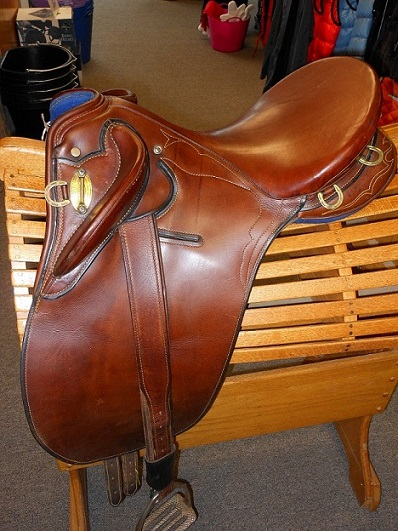 how to ride in an australian saddle