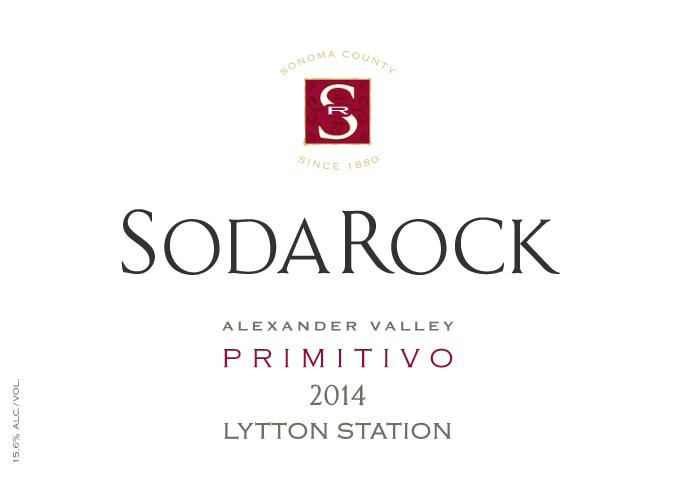 2014 Primitivo, Lytton Station, Alexander Valley