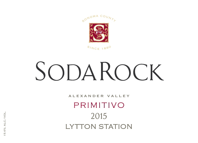 2015 Primitivo, Lytton Station, Alexander Valley