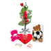 Soccer Rose Valentine's Day Vase Arrangement Mini-Thumbnail