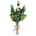 "Football Rose ""Touchdown"" Bouquet (6 Roses) Mini-Thumbnail"