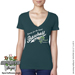 Baseball Rose V-Neck Shirt Mini-Thumbnail