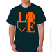 Baseball LOVE T-Shirt Mini-Thumbnail