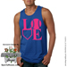 Softball LOVE Mens Tank Top Shirt Mini-Thumbnail