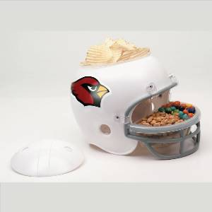 Arizona Cardinals Snack Helmet Vase Planter