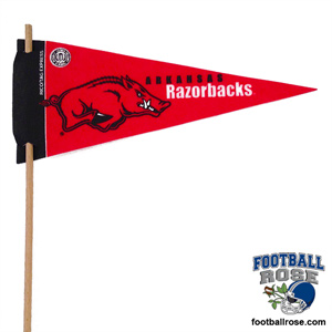 Arkansas Razorbacks  Mini Felt Pennants
