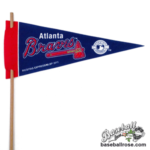 Atlanta Braves Mini Felt Pennants