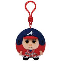 Atlanta Braves Beanie Ballz Clip