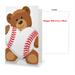 Baseball Valentine's Day Greeting Card Mini-Thumbnail