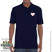 Baseball Heart Polo Shirt - Men's Mini-Thumbnail