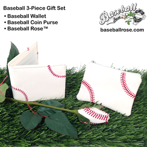 Baseball gift set for baseball fans, players, coaches, and team moms
